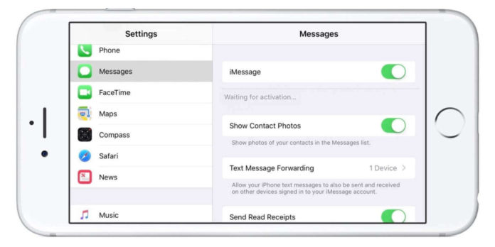 Fix Waiting for Activation issue in iMessage and FaceTime