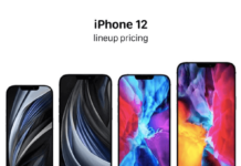 iphone 12 line up pricing