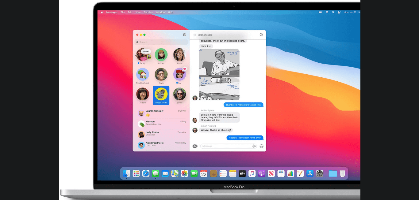 Imessages features