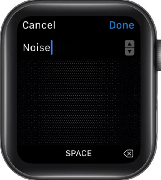 Searching deleted app to reinstall in apple watch series 6