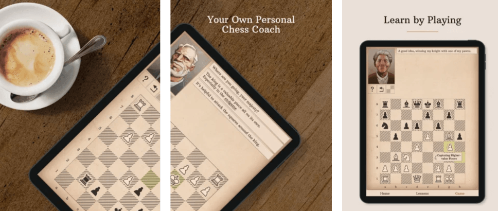 Learn Chess with Dr wolf dashboard