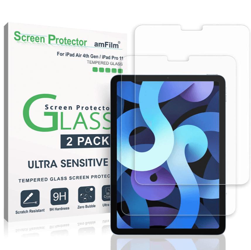 amFilm Glass Screen Protector for iPad Pro 11 inch